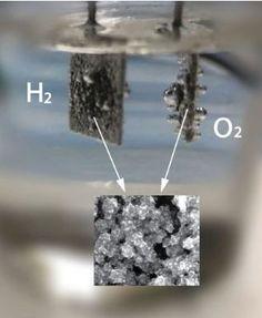 Better method to split water, produce hydrogen Mehr