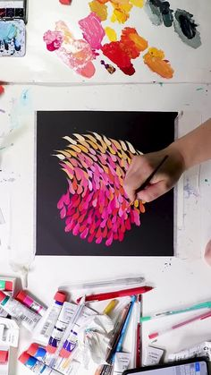 Watercolor Painting Techniques, Watercolor Art, Gouche Painting, Paper Quilling For Beginners, Doodle Art Designs, Art Painting Gallery, Diy Canvas Art, Move Forward, Art Journal Inspiration