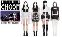 Kpop Fashion Outfits, Stage Outfits, Long Black Hair, Outfit Maker, Kawaii Clothes, Polyvore Outfits, Girl Group, Studio, How To Wear