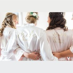 "The Little Lovebird on Instagram: ""Calling all 2020/2021 Brides!! Grab a Bargain this week! 25% off all Roseanna, Plain, and Bonnie Satin robes  Use code BRIDE20 at the…"""