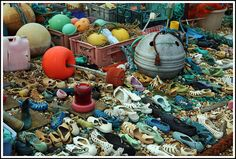 Beachcombing collage by redwine13, via Flickr
