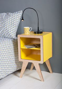 Contemporary bedside table- Bod bedside table