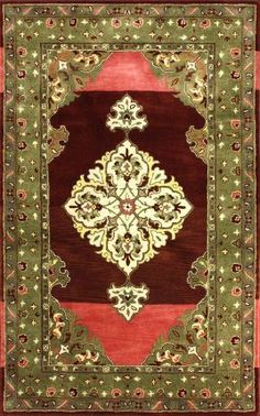 Rugs USA Royal Treasures Berry Rug Traditional , home decor, interior design, style, pattern, decor, Rugs USA