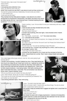 this made me  cry!! But Im happy it was a good ending.