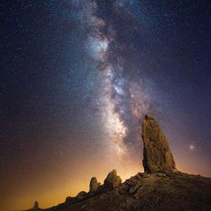 One of my favorites from the Trona Pinnacles in California.