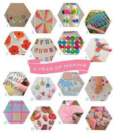 A Year of Making Art and Crafting with Art Bar ~ Make Arts and Crafts with Kids   Small for Big