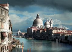 """""""This was Venice, the flattering and suspect beauty - this city, half fairy tale and half tourist trap, in whose insalubrious air the arts once rankly and voluptuously blossomed, where composers have been inspired to lulling tones of somniferous eroticism."""" ~Thomas Mann"""