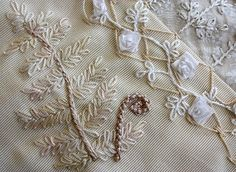 I ❤ embroidery . . . Block 3 - Fern ~By ivoryblush roses