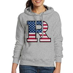 ACFUN Womens Rutgers R Logo Flag University Hoodies Size M Ash * You can get additional details at the image link.  This link participates in Amazon Service LLC Associates Program, a program designed to let participant earn advertising fees by advertising and linking to Amazon.com.