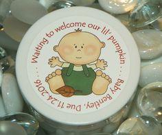 Baby Shower Favors  - Autumn Baby Design #1 (Boy)