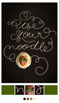 Si te gusta la cocina, la tipografía y el diseño te gustará ver esto!. Mi último proyecto personal en colaboración con mucha gente hambrienta y  talentosa.! Bon Appétit !