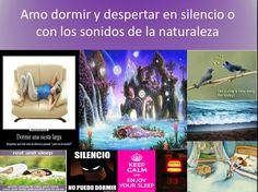 dormir en silencio, dormir con sonidos de la naturaleza, despertar en silencio, despertar con sonidos de la naturaleza, sleep in silence, sleep with sounds of nature, wake up in silence, waking up to the sounds of nature