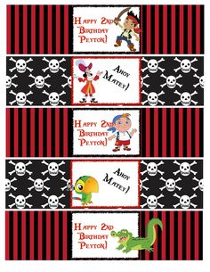 pirate food labels - Google Search