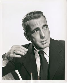 Portrait of Humphrey Bogart, circa Photographed by Robert Coburn. Hooray For Hollywood, Golden Age Of Hollywood, Vintage Hollywood, Classic Hollywood, Humphrey Bogart, Kevin Costner, Bogie And Bacall, Cinema, Lauren Bacall