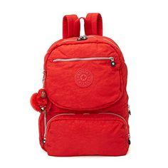 Kipling Women's Dawson Laptop Backpack One Size Cherry