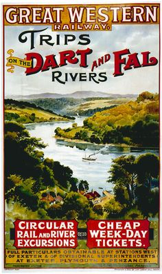 Great Western Railway poster.