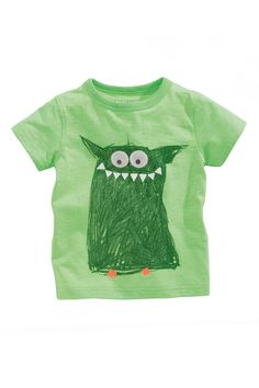 Buy Monster Print T-Shirt (3mths-6yrs) online today at Next: United States of America