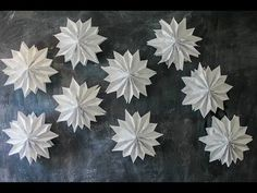 Giant Paper Bag Stars | Paper Craft | Party Decor