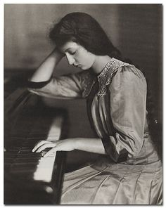 Clara Haskil, Romanian pianist.