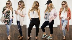 Outfits you will love – Spring and Summer wardrobe style guide #chicmom #casual #trendy