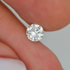 0.46 Carat F Color SI1 Round Enhanced Natural Loose Diamond For Engagement Ring #DiamondsCollection