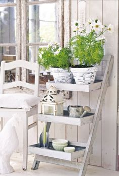 #Shabby Chic outdoors