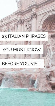 25 Basic Italian Phrases You Must Know Before You Visit Tuscany Italy Travel - Italian Words and Phrases to Know Before Going to Italy - Italy Travel Tips - Visit Italy - Italy Travel Inspiration Basic Italian, Italian Words, Phrases In Italian, Italian Wine, Italy Travel Tips, Rome Travel, Travel Guide, Traveling To Italy Tips, Spain Travel