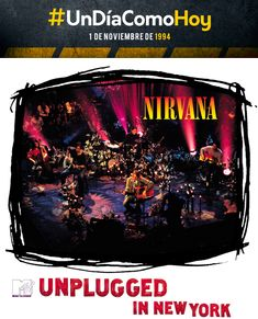 Nirvana - MTV Unplugged in New York - 1 de noviembre de 1994 Aaron Stanford, Logan Marshall Green, Nat Wolff, David Schwimmer, Jonathan Rhys Meyers, The Oc, Richard Gere, Dave Grohl, Nirvana