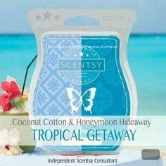 Tropical GetAway COCONUT COTTON & HONEYMOON HIDEAWAY