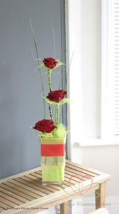 Voorbeelden Bloemschikken met Oasis ll - Goedkoop-bloemschikken