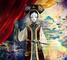 Robots of Qing Dynasty by Jie Van, via Behance
