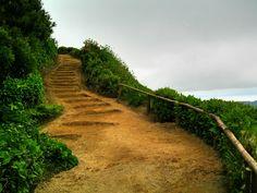 Acesso ao Miradouro Grota do Inferno - Azores