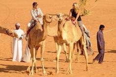 Bucket list: camel rides in Abu Dhabi