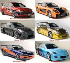 Tokyo drift cars mitsubishi lancer evo 8