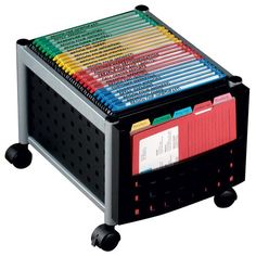 File Carts – Ultimate Office Office Stationery, Work Surface, Extra Storage, Floor Space, Study Organization, Organizing, Cart, Letter, Mini