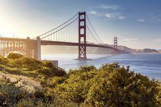 Die berühmte Golden Gate Bridge ist das wohl berühmteste Wahrzeichen San Franciscos