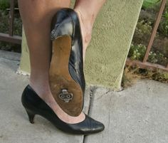 Look good & pedal securely. IF I were going to wear heals and sacrifice my knees, feet, and toe then I would go for these heels.