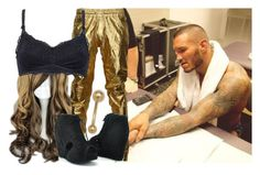 """Hanging out with Randy Orton backstage"" by imblissedoff ❤ liked on Polyvore featuring VIPARO, STELLA McCARTNEY, Jeffrey Campbell, WWE and randyorton"