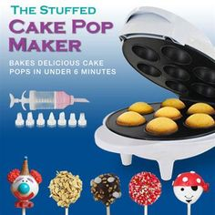 The Stuffed Cake Pop Maker $29.99