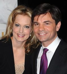 George Stephanopoulos and his wife Ali Wentworth.