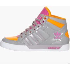 Adidas Hardcourt Hi Women's Casual Shoes ($80) ❤ liked on Polyvore