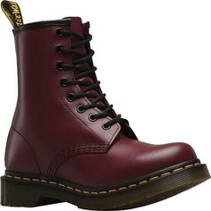 038fe8ddaa29 Women s Dr. Martens 1460 8-Eye Boot W - Cherry Red Smooth Boots