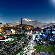 #TrainerTrack Nepal Tag 6: Guten Morgen Nepal die Berge Grüßen uns.