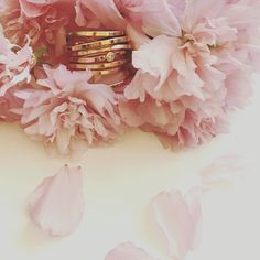 Bound by Cherry Blossoms. POPPYOR Jewelry - Rose Gold Bound Ring