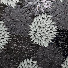 Welcome to Artistic Tile: Estrella Silver Blend Mixed Finish Mosaic Tile Mosaic Art, Mosaic Glass, Mosaic Tiles, Mosaics, Tiling, Glass Tiles, Tile Patterns, Textures Patterns, Pattern Texture
