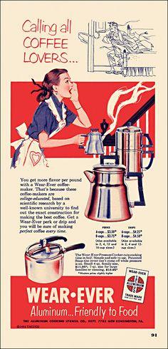 Wear-Ever 1953 amazingcoffeehouse.com
