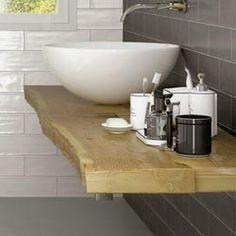 Top bagno in legno antico e colate di resina | creations | Pinterest ...