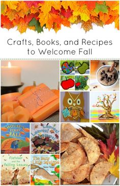 The Ultimate Guide to Celebrating Fall with Kids - crafts, recipes, and books for plenty of Autumn playtime fun!!
