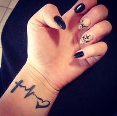 Tattoo faith and love