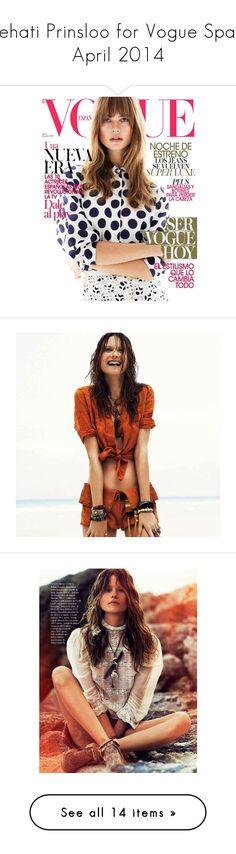 """Behati Prinsloo for Vogue Spain April 2014"" by katkaramakov ❤ liked on Polyvore featuring behati prinsloo"